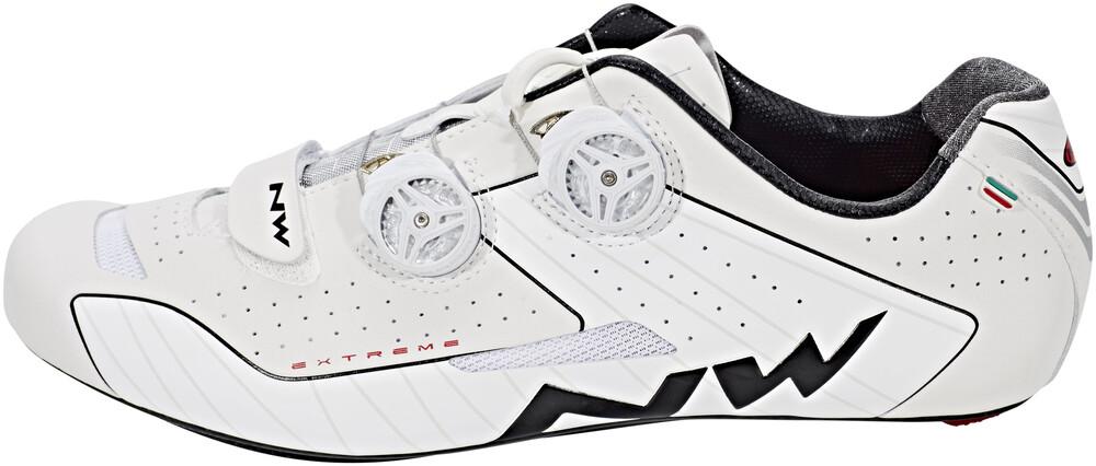 Blanc Chaussures Northwave Extrêmes Hommes 44 2018 Chaussures De Vélo De Route Cliquez QT1kiayBOR